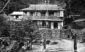 大正6年創業時の丸尾温泉旅館