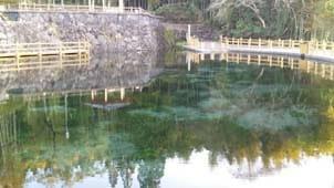 鹿児島の九寨溝?『丸池公園』