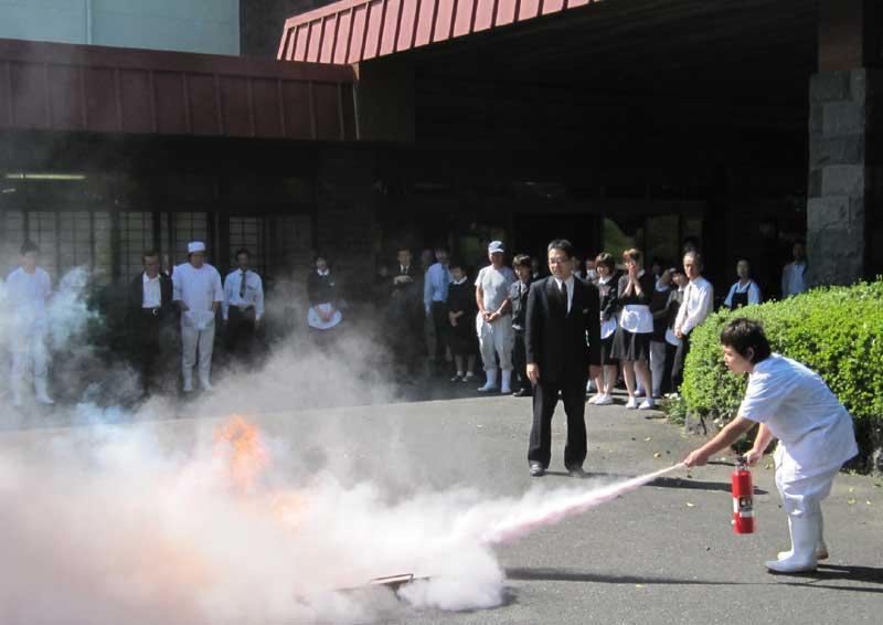 防火避難訓練