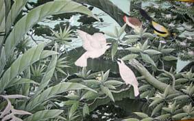バリ絵画展 5月24日まで