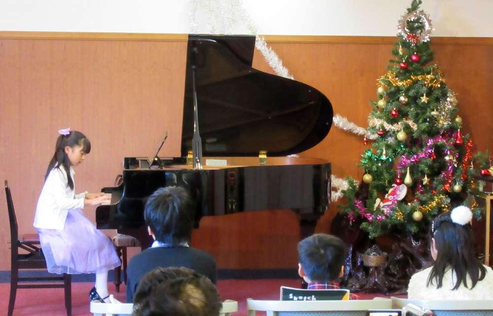入来慶子ピアノ教室クリスマスコンサート