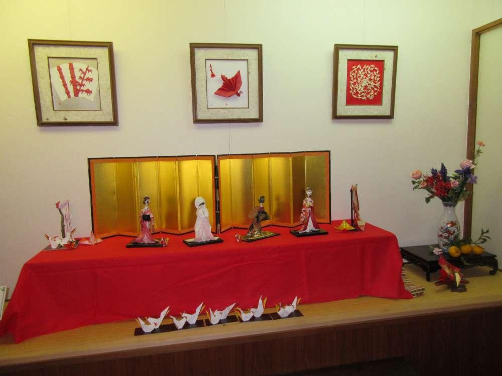 湯浅紀子「折り紙・紙細工作品展」