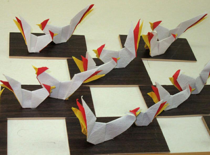 干支の折り紙