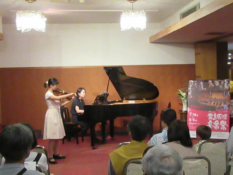 霧島国際音楽祭ロビーコンサート