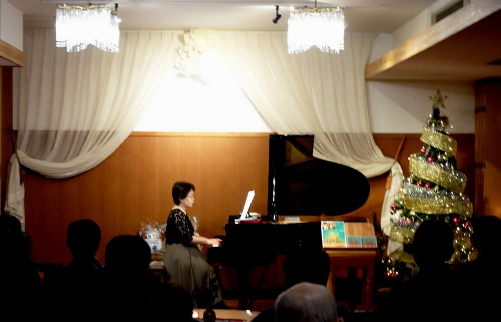 ピアノのゆうべクリスマスコンサート