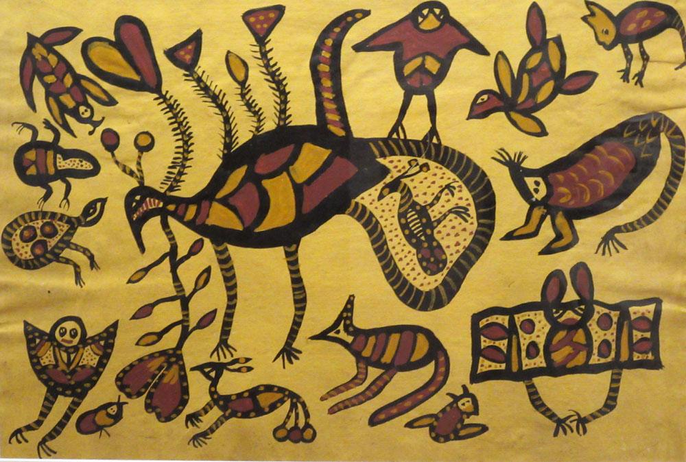 インド ハザリバーグ画展 3月30日まで