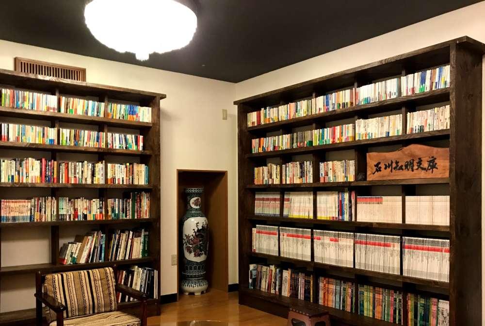図書室ができました。
